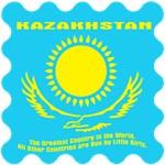 Kazakhstan (light shirt front and back design)