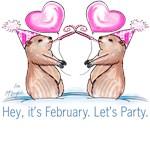 Hey, it's February