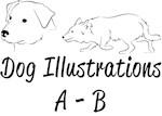 A-B Dog Illustrations
