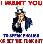 Uncle Sam - Speak English