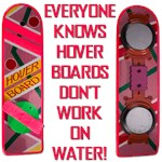Back To The Future - Hover Board