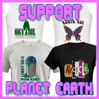 Support Planet Earth Awareness T-Shirts & Gifts