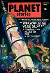 PLANET STORIES-VINTAGE PULP MAGAZINE COVER