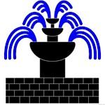 Fontaine Dans Sable Populace Badge