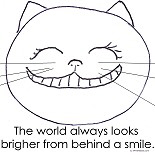 Smiley Cat Face