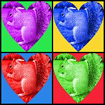 Colorful PopArt Squirrel Lover Gifts