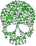 Shamrock Skull St Patricks Day