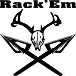 Rack'em Deer Skull & Arrows