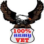 100% Army Vet Eagle