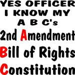 Yes Officer I Know My A B C's