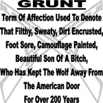 Definition Of U.S. Military Grunt