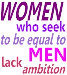 Women Equal Men
