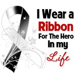Ribbon Hero in My Life Carcinoid Cancer Shirts