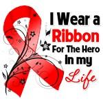 Ribbon Hero in My Life Blood Cancer Shirts