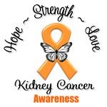 Kidney Cancer Awareness Ribbon Shirts