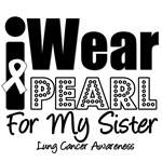 I Wear Pearl Ribbon For My Sister T-Shirts