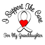 Lung Cancer Cure (Granddaughter) T-Shirts