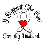 Lung Cancer Cure (Husband) T-Shirts