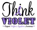 Think Violet Hodgkin's Lymphoma T-Shirts & Gifts