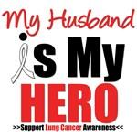 Lung Cancer Hero (Husband) Shirts & Gifts