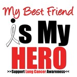 Lung Cancer Hero (Best Friend) Shirts & Gifts
