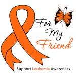 Leukemia Ribbon For My Friend Shirts & Gifts