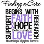 Hodgkin's Lymphoma Finding a Cure Apparel