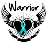 Ovarian Cancer Warrior Wings Shirts and Gifts
