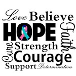 Thyroid Cancer Hope Collage
