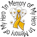 In Memory of My Hero Appendix Cancer Shirts