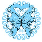 Prostate Cancer Butterfly Shirts and Gifts