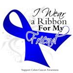 I Wear a Blue Ribbon Colon Cancer Shirts