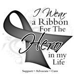 Brain Cancer Hero in My Life Shirts