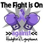 The Fight is On Hodgkins Lymphoma Shirts