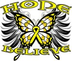 Hope Believe Ewing Sarcoma Shirts and Gifts