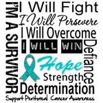 Peritoneal Cancer Persevere Shirts