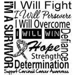 Carcinoid Cancer Persevere Shirts