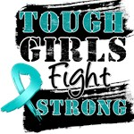 Peritoneal Cancer Tough Girls Fight Strong Shirts