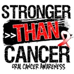 Oral Cancer - Stronger than Cancer Shirts
