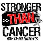 Brain Cancer  Stronger than Cancer Shirts
