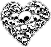 Skull Filled Hearts
