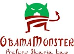 Obama Monster Prefers Sharia Law