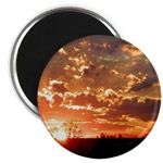 Sunset Magnets & Buttons