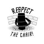 Star Trek - Respect The Chair