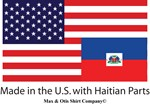 Made in America with Haitian parts
