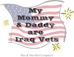 My mommy and daddy are Iraq vets