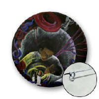 Sickle Cell Awareness Buttons