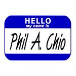 Hello My Name is Fellatio (Phil A. Chio) Sticker