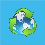 Recycle Logo Earth Day Globe