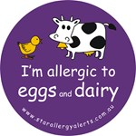 I'm allergic to eggs and dairy